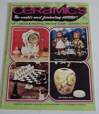 April 1972 CERAMICS The World's Most Fascinating Hobby MAGAZINE (Combined Ship)