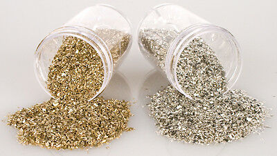 Stampendous Frantage Crushed Glass Glitter 1.41oz-Silver