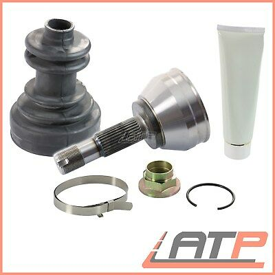 J/&R 19,20,21,25 10X DRIVE SHAFT CV JOINT BOOT KIT STAINLESS STEEL CLAMP CLIP