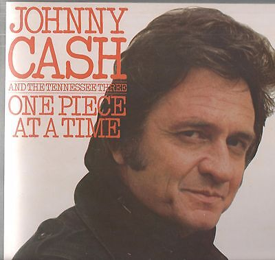 Johnny Cash - 'One Piece At A Time' 1976 UK CBS LP. Ex!