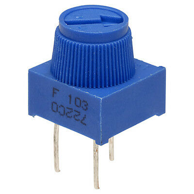 3/8 1-turn Finger Adjust Potentiometers 3386F  (See drop down list for Various)