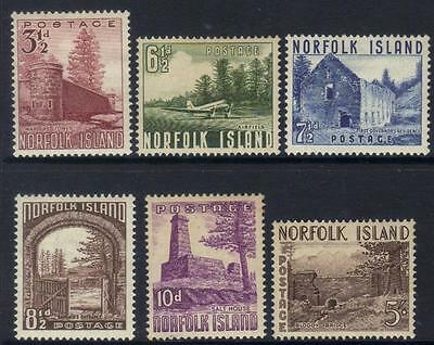 Norfolk Island 1953 Definitives M/m Cat £42+