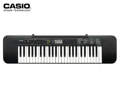 Casio CTK240 Portable Keyboard w/ Adapter - Black