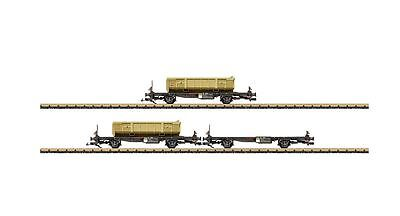 LGB 47899 Containertragwagen-Set RhB