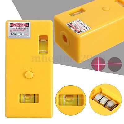Level Laser Magnetic Right Measure Cross Vertical Line Infrared Measurement Tool