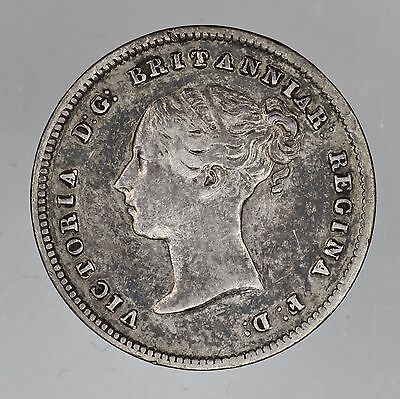 GREAT BRITAIN 1841 PL 4 Pence