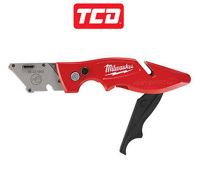 Milwaukee 48221902 Fastback 2 Folding/Flip Trimming Work Knife - NO BLADES