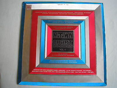 VARIOUS Motown Chartbusters Vol.4 UK LP 1970 ex+/vg+