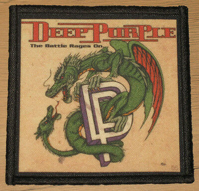 "DEEP PURPLE ""THE BATTLE RAGES ON"" silk screen PATCH"