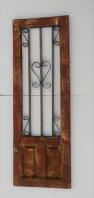 Decorative Wooden Door Window Panel 43 1/2""