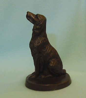 Heredities ENGLISH SPRINGER SPANIEL Cold Cast Bronze Figurine ornament model dog
