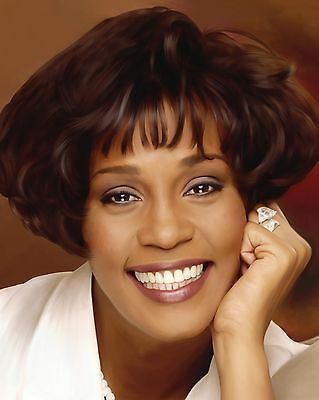 "Whitney Houston 10"" x 8"" Photograph no 10"