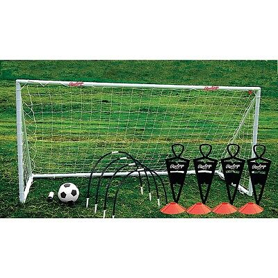 Rawlings - 7' Soccer Goal With Training Accessories