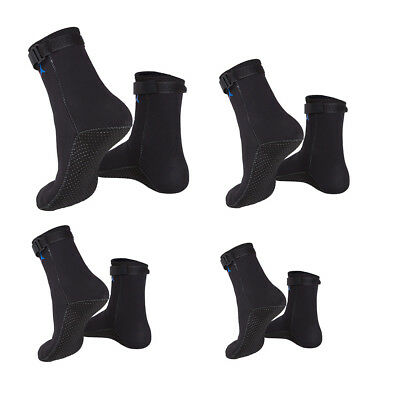 3mm Neoprene Water Sports Dive Swim Snorkeling Aqua Fin Skin Socks Booties