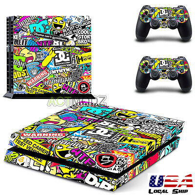Video Game Accessories Devoted Ps4 Slim Sticker Console Decal Playstation 4 Controller Vinyl Skin Brunette Faceplates, Decals & Stickers