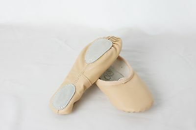 Brand new  women's Leather Ballet Shoes Size  8/8.5