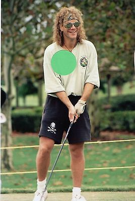 Bon Jovi David Bryan On The Golf Course 4 - 5X7 Color Photo Set #75B