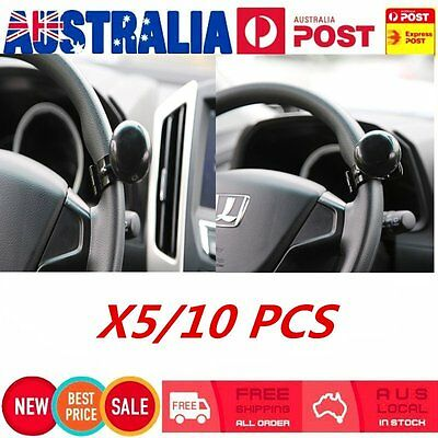 5/10 X Handle Turning Steering Wheel Knob Spinner Hand Rotate Car Lorry LOT FR