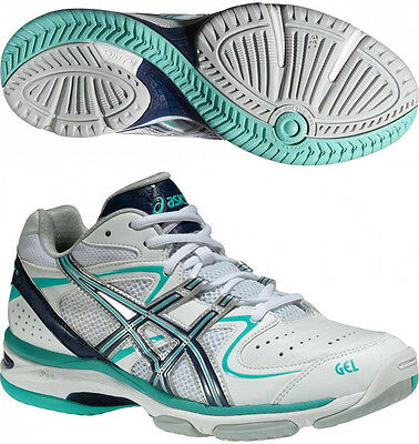 Asics Gel Netburner 16 WIDE FIT Ladies Netball Shoes - White