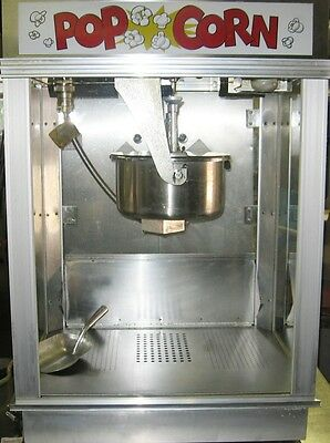 GOLD MEDAL Popcorn Machine Maker Deluxe Stainless Steel Citation WITH oil pump!