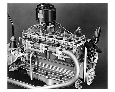 1936 Nash Engine ORIGINAL Factory Photo oub4400
