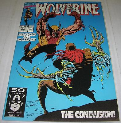 WOLVERINE #37 (Marvel Comics 1991) 1st appearance X-24 WOLVERINE clone (FN+)