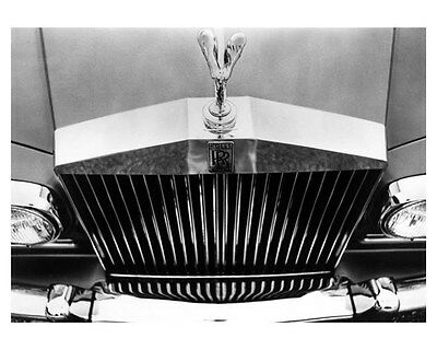 1973 Rolls Royce Silver Shadow Front End ORIGINAL Factory Photo oub4639