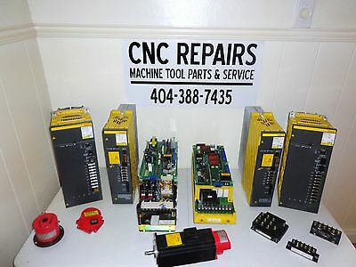 New  Fanuc Spindle Amp ( A06B-6142-H002#h580 )  Core Credit Available