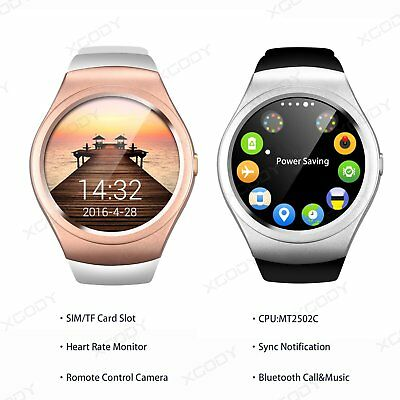 Bluetooth Smart Wrist Watch Phone SIM GSM For Android iPhone Samsung Waterproof