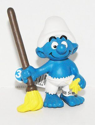 20764 Ship/'s Cook Smurf Figurine from 2014 Pirate Set Plastic Miniature Figure