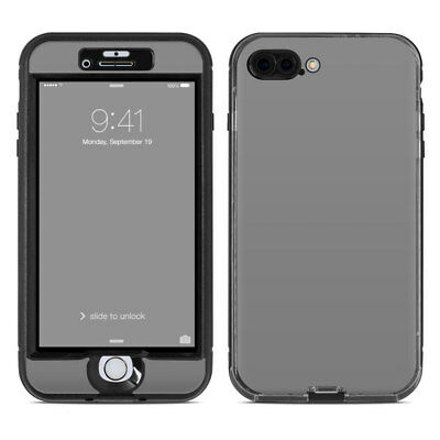 Skin for LifeProof NUUD iPhone 7 Plus - Solid Grey - Sticker Decal