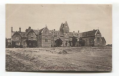 Hereford Training College - old postcard