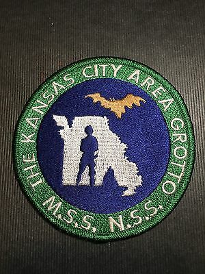 The Kansas City Area Grotto   Shoulder Patch
