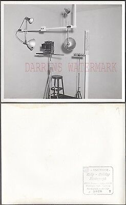 Vintage Photo Huntington Park Police Mug Shot Camera Studio Booking 273018
