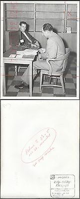 Vintage Photo Huntington Park Police Polygraph Lie Detector Test 273010