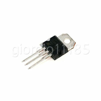 US Stock 10pcs TIP125 125 PNP Darlington Transistors TO-220 ST New
