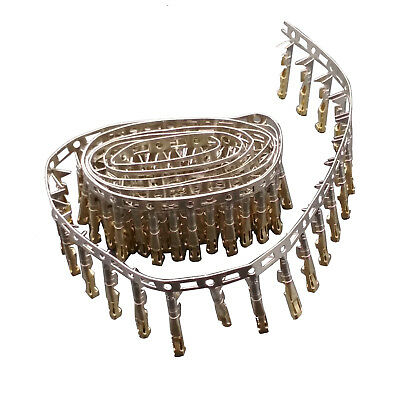 100 pcs Female Pin Dupont Connector Gold Plated 2.54mm Pitch