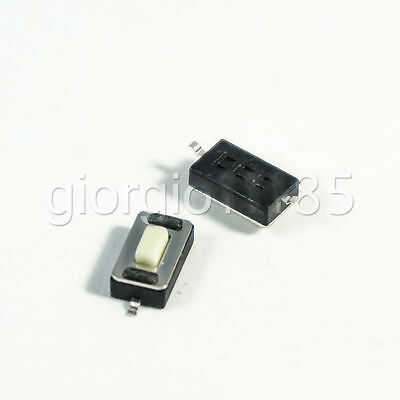 50 pcs 3 × 6 × 2.5mm Tact Tactile Push Button Switch SMD 2 Pin New