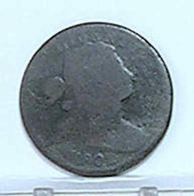 Large Cent; DRAPED BUST; 1802