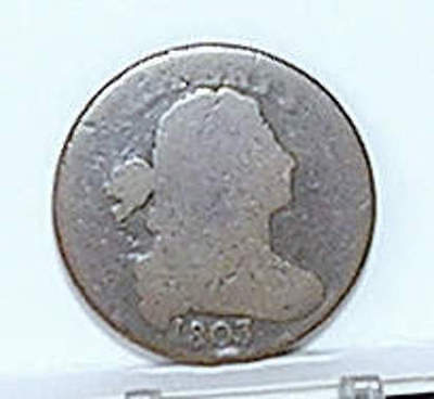 Large Cent; DRAPED BUST; 1803