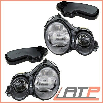 2X Headlamp Headlight H7/h7 Left+Right Mercedes E-Class W210 +S210 Estate