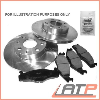 Brake Discs + Brake Pads Rear Solid Ø302 Ford Mondeo Mk 4 Iv From 2007 Onwards