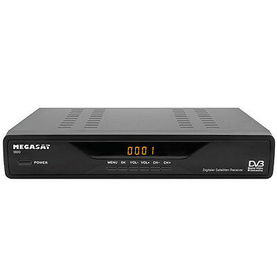 MegaSat 3600 digitaler Satelliten-Receiver Scart DVB-S NEU