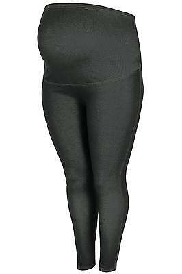 Womens Bump It Up Maternity Black Jeggings With Comfort Panel Plus Size 16 To 36