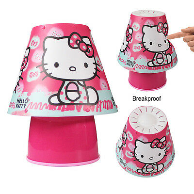 Hello Kitty Lamp Bedside Bedroom Light Shade Reading Cool Touch Table Lighting