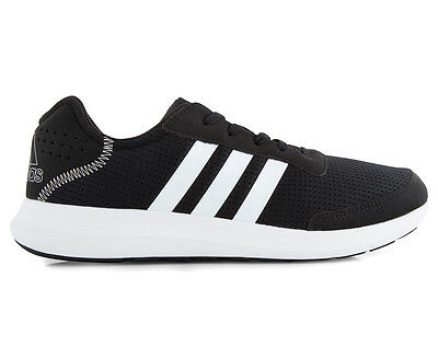 Adidas Men's Element Refresh Running Shoe - Black/White