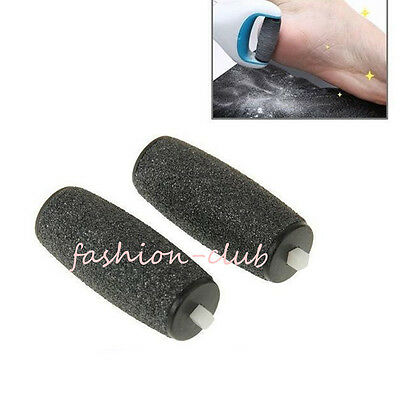1x Compatible Replacement Coarse Roller Refill Heads For Foot Velvet Smooth Pedi