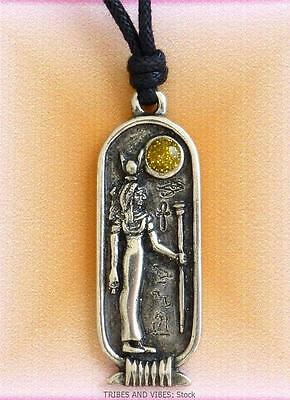 HATHOR Pendant Necklace Egyptian Zodiac Gemini Cancer 26 May 24 June Jewellery