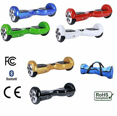 """Self Balancing Hoverboard Electric Balance Scooter 6.5"""" Bluetooth Hover Board"""