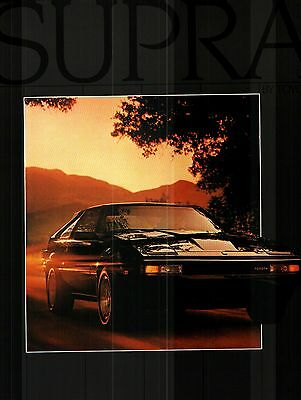 1983 Toyota Celica Supra Prestige Color Sales Catalog